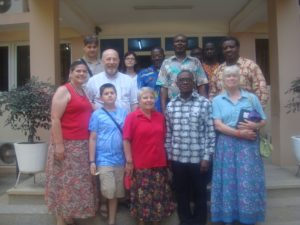 CPC Members with Rev. Dr. Francis Acquah and officials of the Methodist University of Ghana